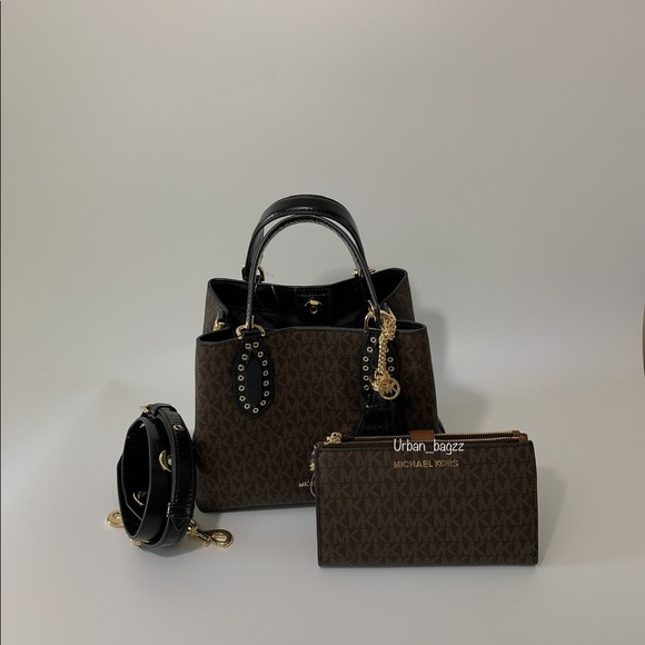 Michael Kors Brooklyn Small Grab Bag Satchel Set